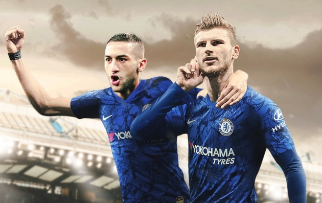 Cesc Fabregas explains why Hakim Ziyech and Timo Werner can make Chelsea a 'powerful' force this season    - Bóng Đá