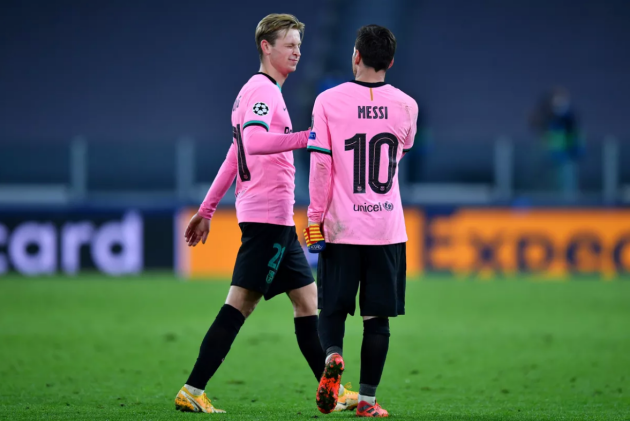 Lionel Messi and Frenkie de Jong left out of Barcelona squad to face Dynamo Kiev - Bóng Đá