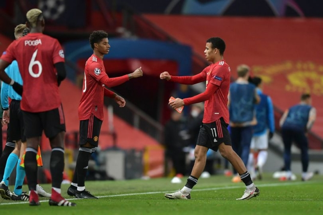 Mason Greenwood reveals Marcus Rashford inspiration at Manchester United - Bóng Đá