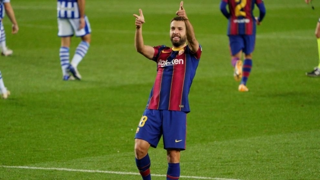 Jordi Alba: Barcelona played their best half, and best game of the season - Bóng Đá