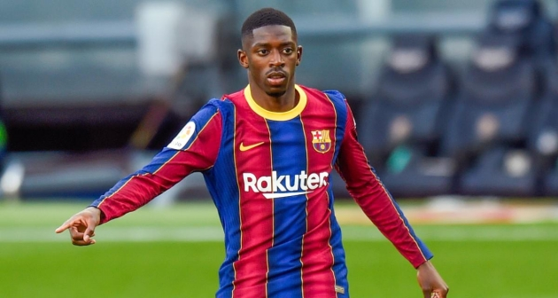 Ousmane Dembele's agent 'in touch' with Man Utd as Barcelona future hangs in balance - Bóng Đá