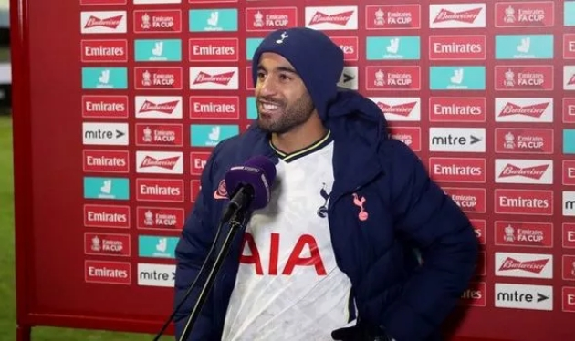 Tottenham's Lucas Moura sends Liverpool and Man Utd warning over Premier League ambitions - Bóng Đá