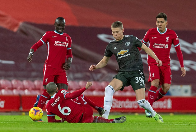 Manchester United fans rave about what Scott McTominay did against Liverpool - Bóng Đá