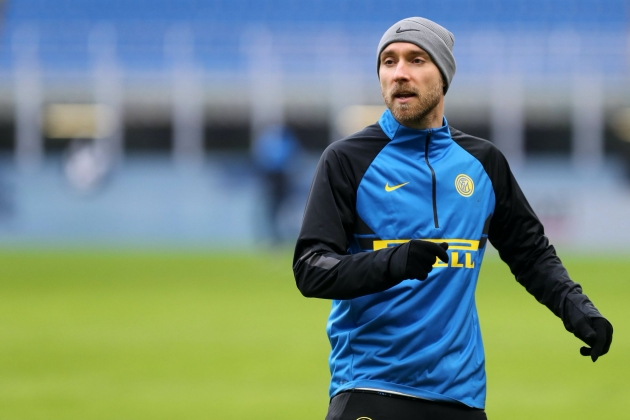 Manchester United Make Six-Month Loan Offer For Inter's Christian Eriksen, UK Media Report - Bóng Đá