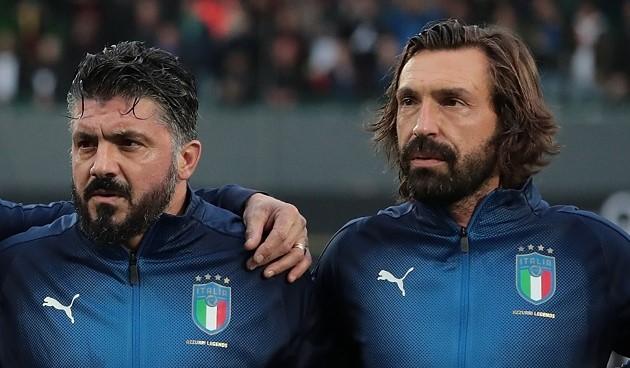 """Gattuso: """"Le di más bofetadas yo a Pirlo que su padre"""" - Bóng Đá"""