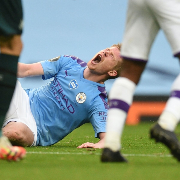 Kevin De Bruyne: Man City midfielder out for four to six weeks with hamstring injury - Bóng Đá