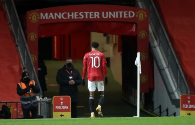 Marcus Rashford fit for Manchester United's clash against Sheffield United after scan results show no major damage   - Bóng Đá