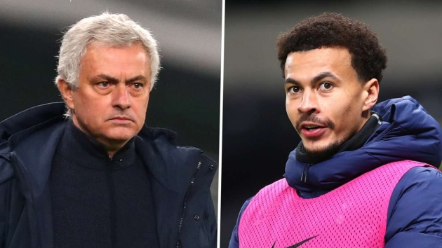 Mourinho: Tottenham need a good version of Alli and Bale is trying his best - Bóng Đá