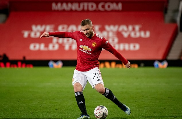 Manchester United defender Luke Shaw on the verge of England recall after two-year absence - Bóng Đá