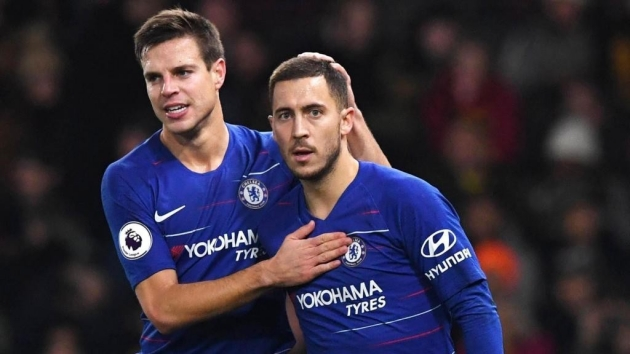 Azpilicueta: Despite the kicks he took, Hazard was always available at Chelsea - Bóng Đá