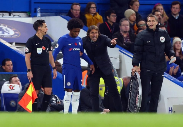 Willian reveals exactly why it went wrong for Antonio Conte at Chelsea despite title success - Bóng Đá