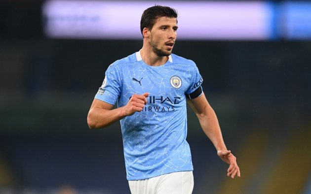 Man City star Ruben Dias admits two Man Utd stars were inspiration behind his success - Bóng Đá