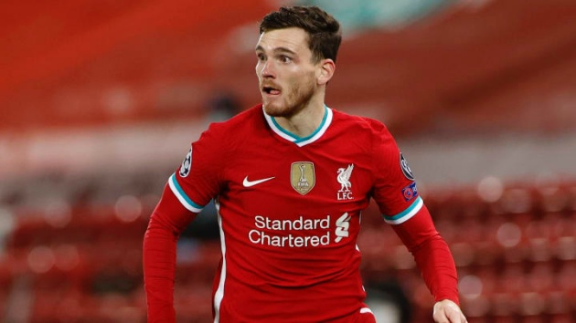 'We can't rely on the past, last season is done!': Liverpool defender Andy Robertson launches rallying cry to team-mates - Bóng Đá