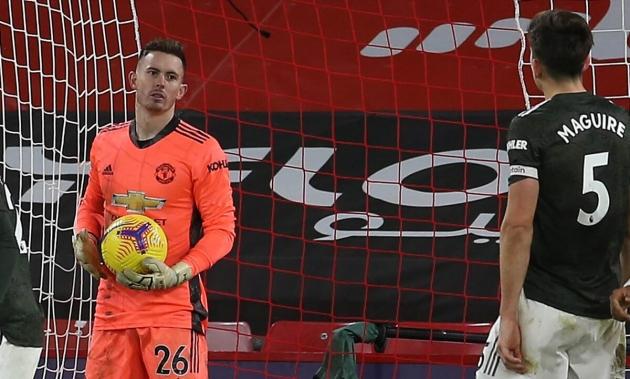 Harry Maguire sends Dean Henderson message over David de Gea after Manchester United's derby win - Bóng Đá