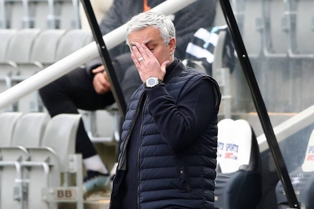 Some Spurs players 'angered' by something Mourinho did after Newcastle draw – report - Bóng Đá
