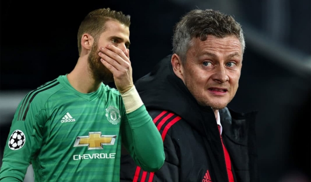 Solskjaer warns De Gea of his battle ahead to be Man United's No 1 - Bóng Đá