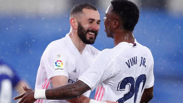 Benzema: I believe in Vinicius Jr, sometimes I speak to him loudly, but it's because of him - Bóng Đá