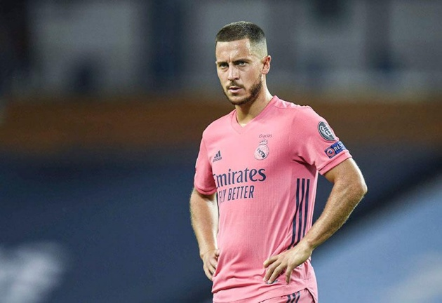Hazard sa lầy, thật may vì Zidane vẫn có