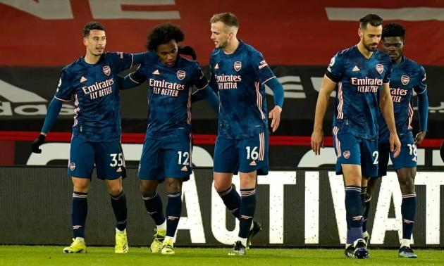 5 điểm nhấn Sheffield - Arsenal - Bóng Đá