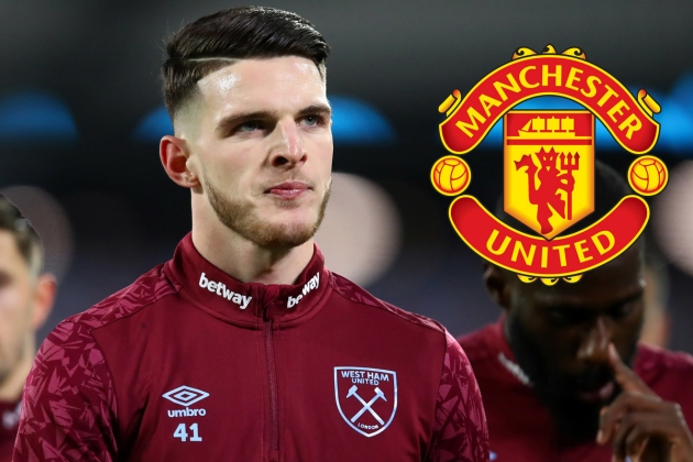 West Ham United 'not interested in selling Declan Rice amid Manchester United talk' - Bóng Đá