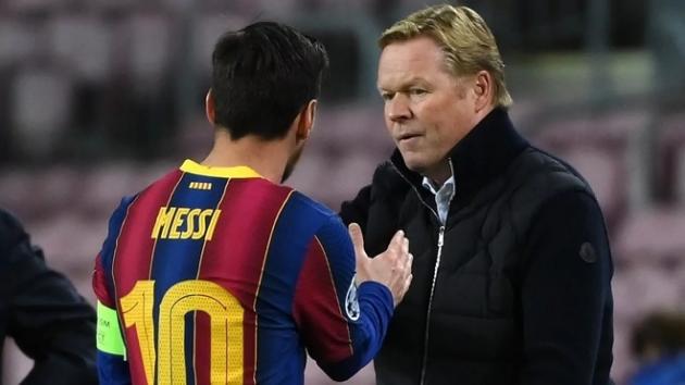 Koeman's response to PSG's offer to Messi - Bóng Đá