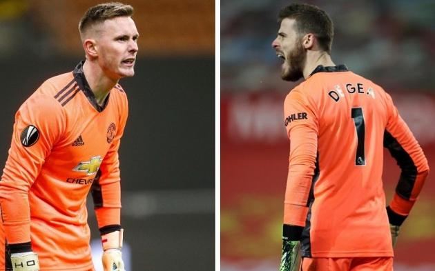 Man Utd thay De Gea bằng