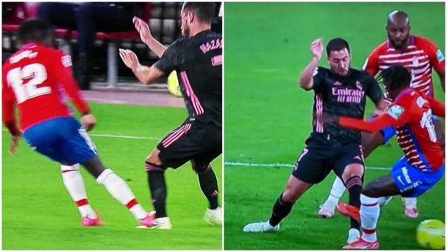 Real Madrid angry over challenge on Hazard - Bóng Đá