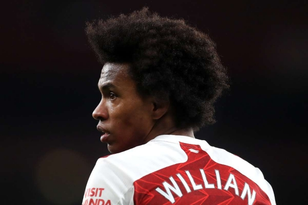 Willian 'keen to end Arsenal nightmare by linking up with David Beckham's Inter Miami'... - Bóng Đá