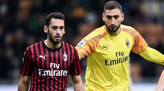 Tuttosport: AC Milan set to work on key renewals - the latest on Donnarumma and Calhanoglu. - Bóng Đá