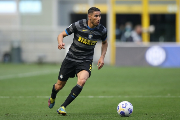 Arsenal transfer target Achraf Hakimi could reportedly leave Inter Milan - Bóng Đá