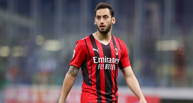 CorSera: Calhanoglu rejects offer from Qatar and €16m renewal with Milan is now imminent. - Bóng Đá