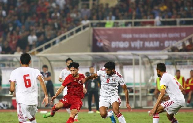 Thắng UAE, Việt Nam thể hiện thế áp đảo ở 3 phương diện - Bóng Đá