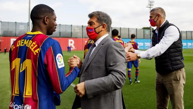 Doubts about Dembele's future at Barcelona - Bóng Đá