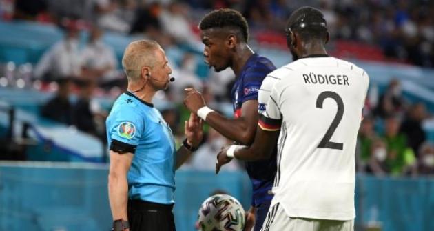 Anthony Rüdiger denies biting Paul Pogba during Germany loss to France - Bóng Đá
