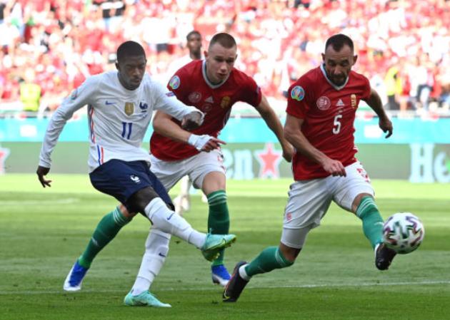 TRỰC TIẾP Hungary 1-0 Pháp (H2): Dembele vào sân - Bóng Đá
