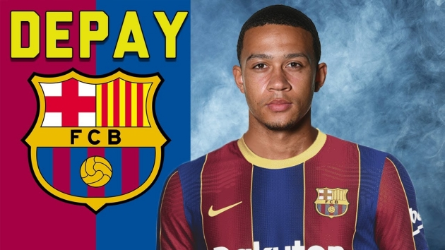 CHÍNH THỨC: Memphis Depay gia nhập Barcelona - Bóng Đá