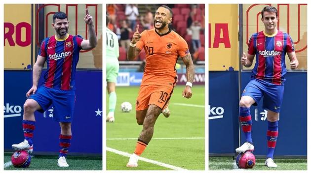 Aguero, Eric Garcia and Memphis Depay: Three luxury players at zero cost - Bóng Đá