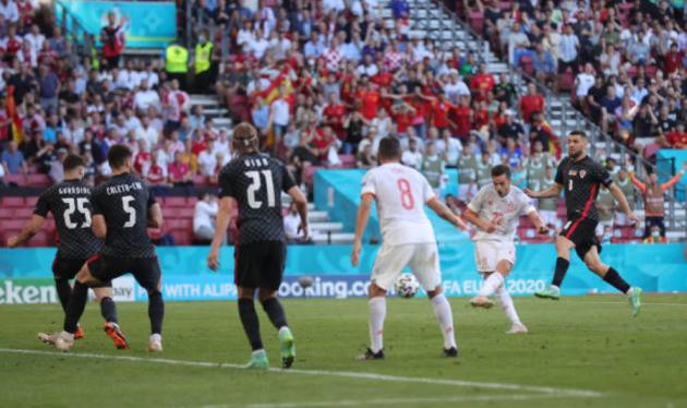 TRỰC TIẾP Croatia 1-1 Tây Ban Nha (H1): Sarabia lập công - Bóng Đá