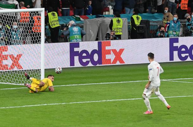 5 điểm nhấn Ý 1-1 (pen 4-2) Tây Ban Nha: Đáng tiếc Olmo; Người Ý già rơ - Bóng Đá