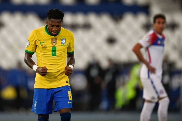 Fred is sending Manchester United a midfield reminder with Copa America performances - Bóng Đá