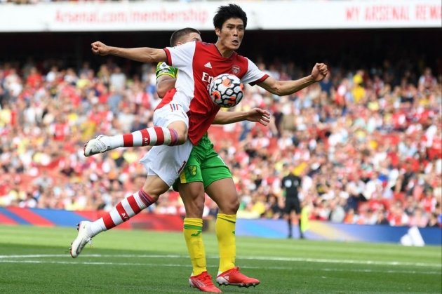 Takehiro Tomiyasu: Playing for Arsenal in the Premier League is a dream come true - Bóng Đá