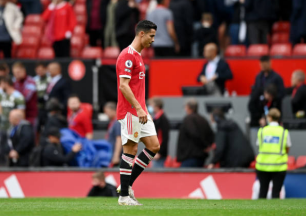 Cristiano Ronaldo reaction shows damage to Manchester United title hopes - Bóng Đá