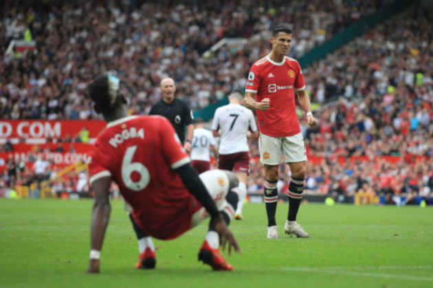 3 sự thất vọng lớn nhất của Ronaldo với Man Utd ở trận thua Villa - Bóng Đá