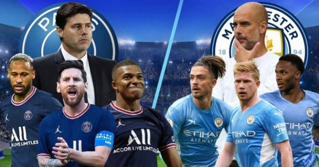 PSG - Man City:  - Bóng Đá