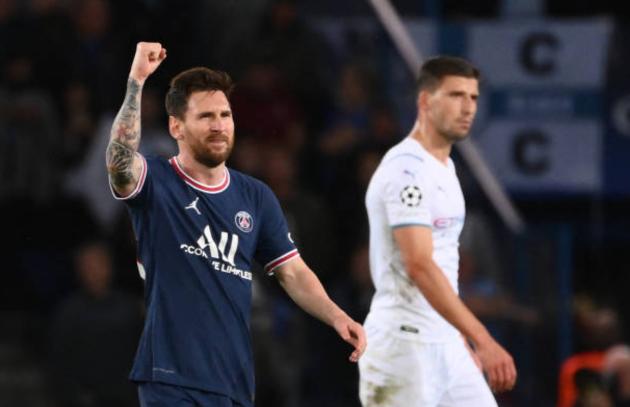 TRỰC TIẾP PSG 2-0 Man City (H2): Messi lập công - Bóng Đá