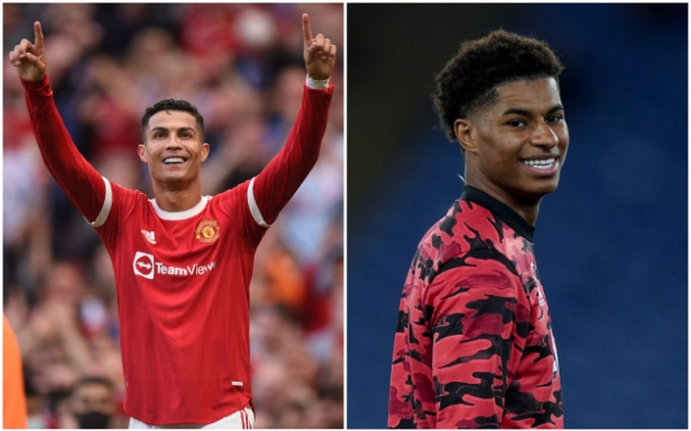 Marcus Rashford makes admission to Man United fans about Cristiano Ronaldo - Bóng Đá