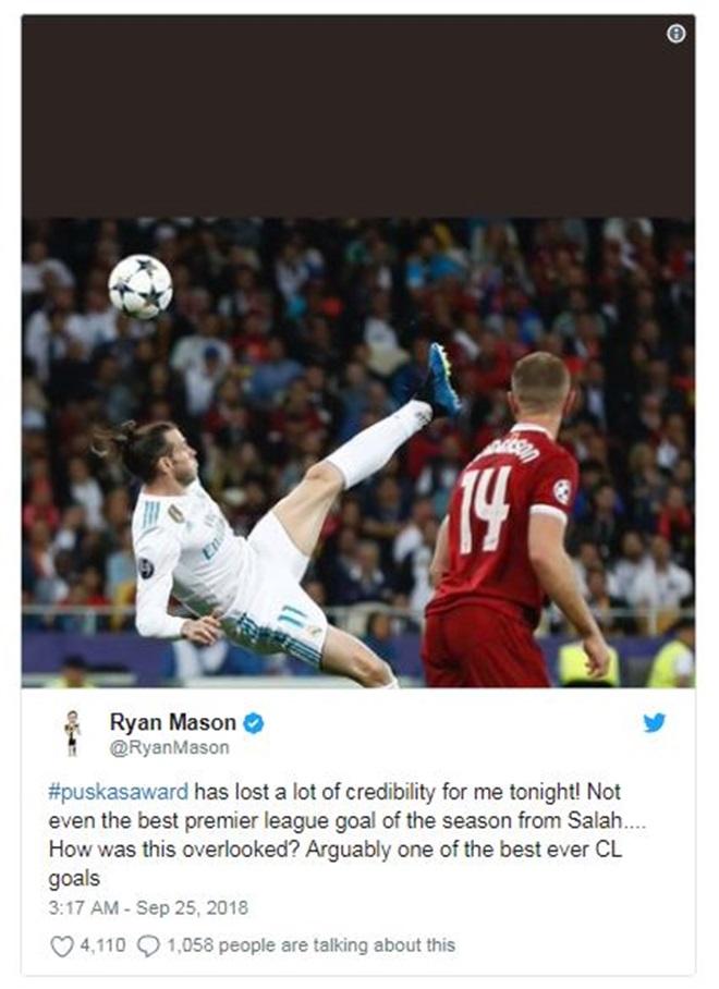 Salah nhận giải Puskas, sao Ngoại Hạng Anh phản đối kịch liệt - Bóng Đá