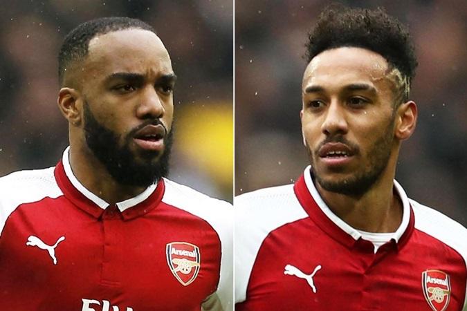 Tin Arsenal: Lacazette nói gì về mối quan hệ cạnh tranh với Aubameyang? - Bóng Đá