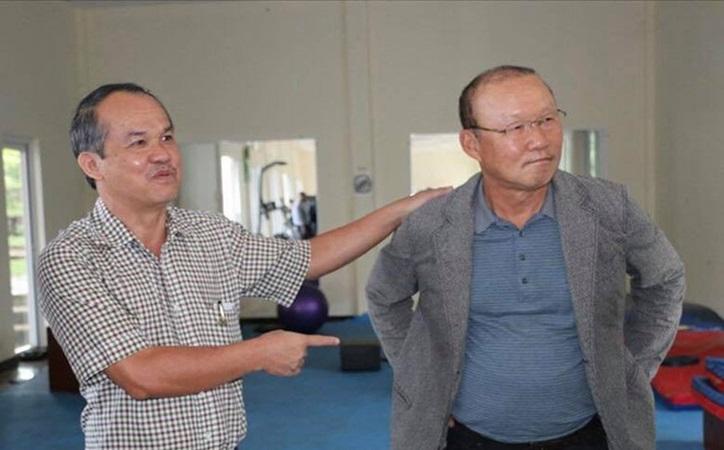 Trước thềm trận Việt Nam vs Malaysia, bầu Đức lên tiếng về thầy Park - Bóng Đá