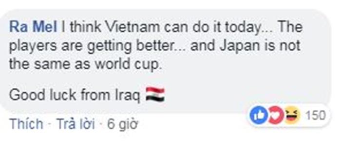 CĐV Tây Á chỉ nói một điều với Việt Nam trước cuộc chạm trán Nhật Bản - Bóng Đá